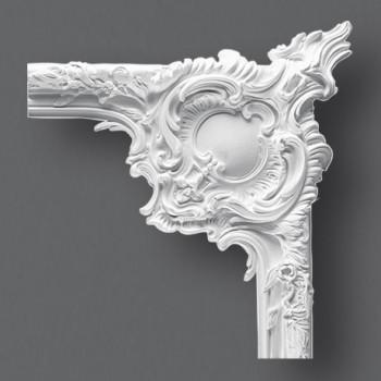 paire d 39 angle moulure 76 asymetrie luminaire applique rosace corniche frise plafonnier. Black Bedroom Furniture Sets. Home Design Ideas