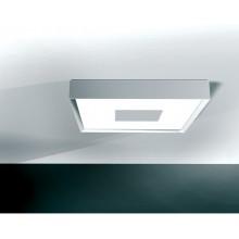 plafonnier carré fluorescent 55w